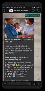 eServices - Virtual Mentor Mother Platform (VMMP)