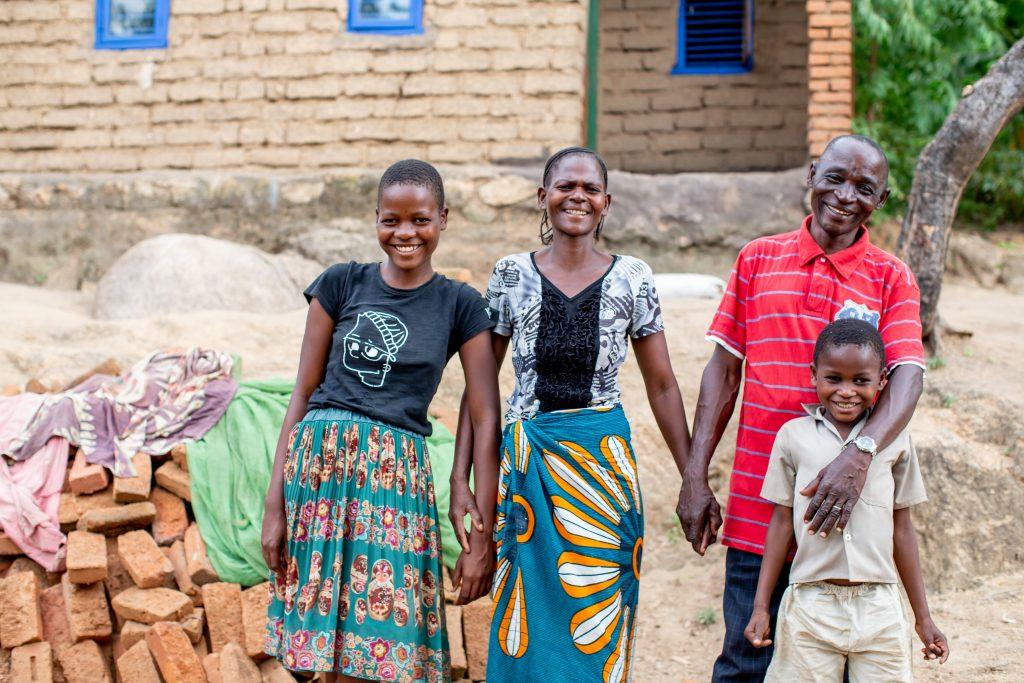 Family in Malawi