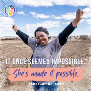 It once seemed impossible. She's made it possible.